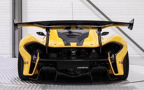 Phien ban McLaren P1 GTR vang den gia 3,3 trieu do - Anh 6