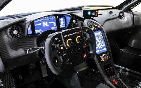 Phien ban McLaren P1 GTR vang den gia 3,3 trieu do - Anh 9