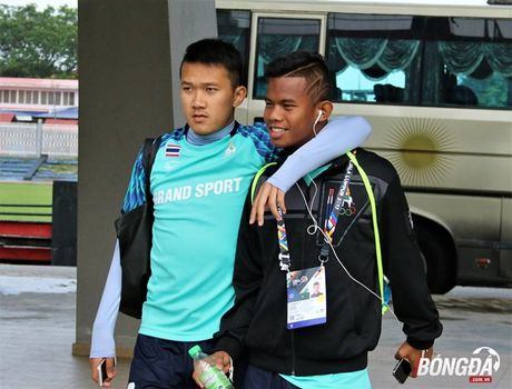 U22 Thai Lan tap gi tren dat Malaysia truoc SEA Games 29? - Anh 1