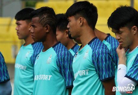 U22 Thai Lan tap gi tren dat Malaysia truoc SEA Games 29? - Anh 5