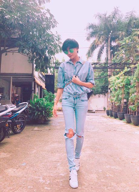 Vo cu Phan Thanh Binh lai khoe anh ben 'trai la' - Anh 5