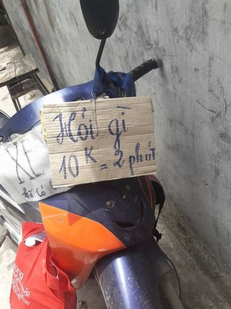 Anh hai huoc khong tuong voi cach quang cao xe om - Anh 9