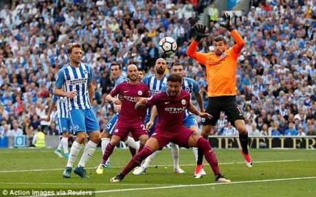 Video, ket qua bong da Brighton - Man City: Penalty hut va 2 sai lam chi tu (Vong 1 Ngoai hang Anh) - Anh 1