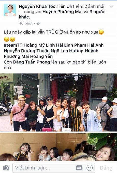 Khoe anh cung dan hoc tro The Voice 2017, Toc Tien khong he nhac den Hien Ho? - Anh 1
