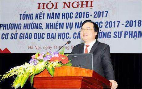 Thi sinh 'ngan ngam' nganh su pham: Cham dut o dau cung mo truong - Anh 1