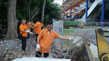 Clip: Malaysia dang 'chay dua' voi le khai mac Sea Games - Anh 6