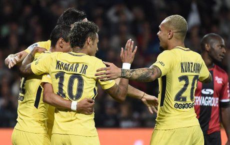 Guingamp 0-3 PSG: Neymar khien Ligue 1 'mo mat' - Anh 2