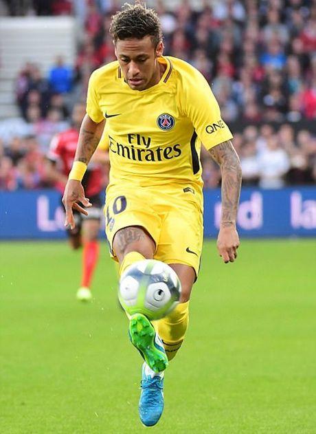 Guingamp 0-3 PSG: Neymar khien Ligue 1 'mo mat' - Anh 4