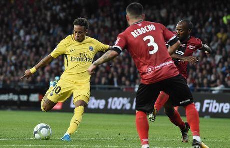 Guingamp 0-3 PSG: Neymar khien Ligue 1 'mo mat' - Anh 6