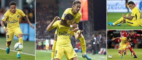 Guingamp - PSG: Sieu sao Neymar ra mat sieu dang - Anh 1