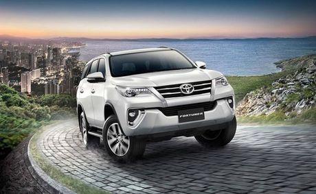 Toyota Fortuner 2017 co gia chi tu 846 trieu dong - Anh 1