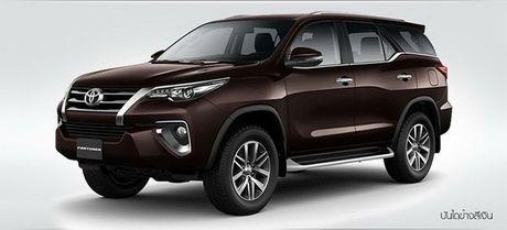 Toyota Fortuner 2017 co gia chi tu 846 trieu dong - Anh 2