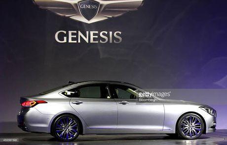 Hyundai thu hoi hang tram xe Genesis tai Trung Quoc de khac phuc loi phanh tay - Anh 1