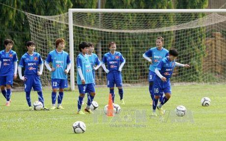 Bong da nu Viet Nam nham den Huy chuong Vang SEA Games 29 - Anh 1