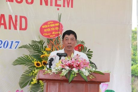 Khoi cong xay dung Khu luu niem 6 dieu Bac Ho day CAND - Anh 2