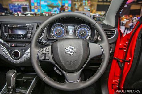 Suzuki ra mat mau xe hatchback - Baleno gia re hon 300 trieu dong - Anh 7
