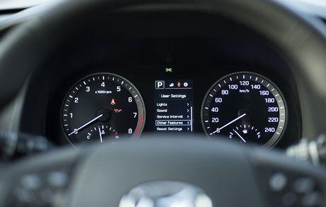 Anh chi tiet Hyundai Tucson 2017 co gia tu 815 trieu dong - Anh 12