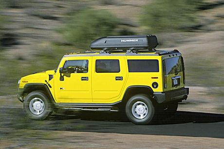 Xe SUV Hummer H2: Chien binh off-road hoan hao - Anh 11