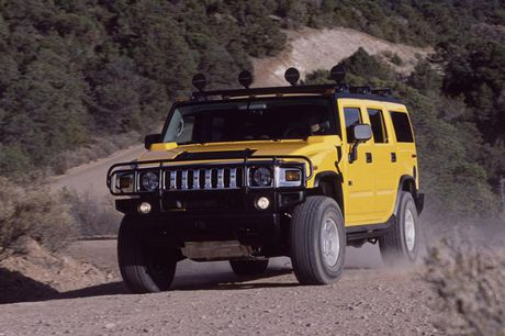 Xe SUV Hummer H2: Chien binh off-road hoan hao - Anh 2