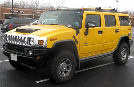 Xe SUV Hummer H2: Chien binh off-road hoan hao - Anh 4
