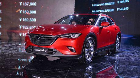 Mazda CX-4 2018 trinh lang ban nang cap - Anh 2