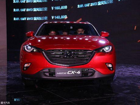 Mazda CX-4 2018 trinh lang ban nang cap - Anh 3