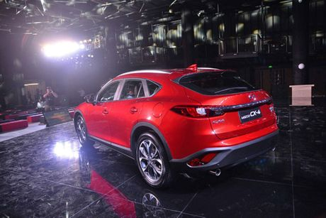 Mazda CX-4 2018 trinh lang ban nang cap - Anh 5