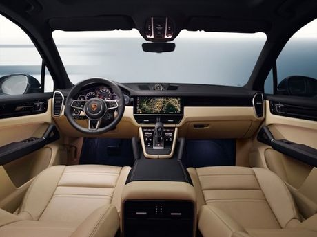 Xe sang Porsche Cayenne 2018 'lo hang' truoc ngay ra mat - Anh 5