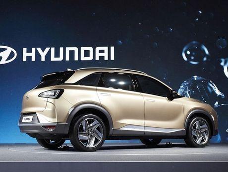 Hyundai trinh lang xe chay bang nhien lieu hydro moi - Anh 5