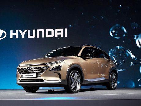 Hyundai trinh lang xe chay bang nhien lieu hydro moi - Anh 8