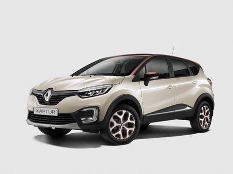 Renault Captur Extreme 2018 nâng cấp tại Nga