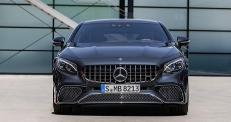 Mercedes-Benz S-Class Coupe 2018 chinh thuc lo dien - Anh 14