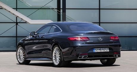 Mercedes-Benz S-Class Coupe 2018 chinh thuc lo dien - Anh 15