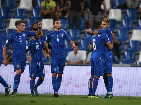 Italia 1-0 Israel: Nguoi hung Immobile - Anh 10