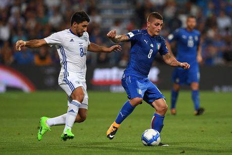 Italia 1-0 Israel: Nguoi hung Immobile - Anh 1