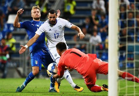 Italia 1-0 Israel: Nguoi hung Immobile - Anh 3