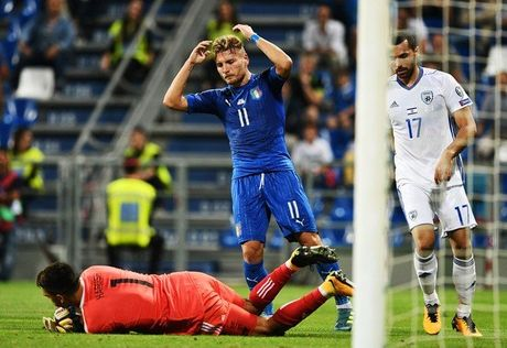 Italia 1-0 Israel: Nguoi hung Immobile - Anh 4