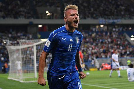Italia 1-0 Israel: Nguoi hung Immobile - Anh 8