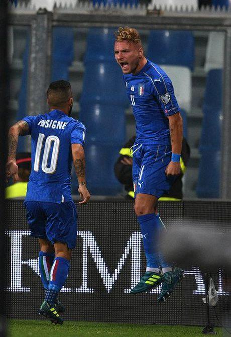 Italia 1-0 Israel: Nguoi hung Immobile - Anh 9