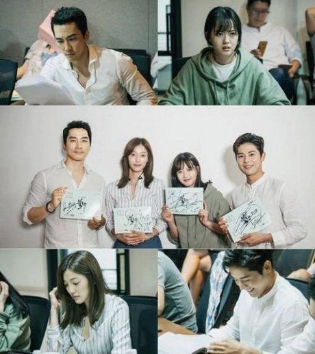 Song Seung Heon dong phim moi, ban than So Ji Sub gui tang xe cafe de ung ho - Anh 12