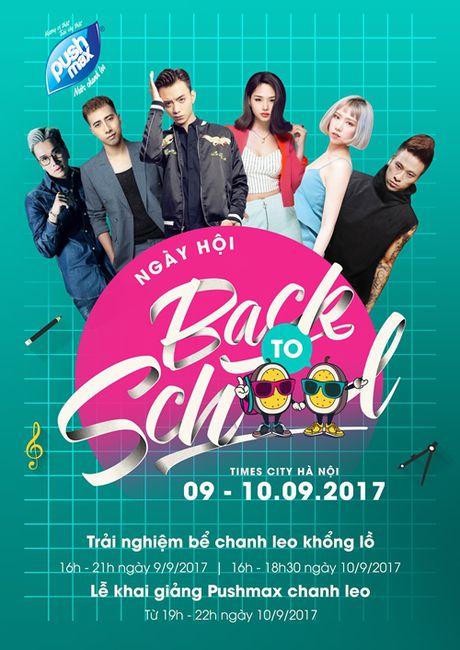 'Back to school' - Le khai giang sieu an tuong lan dau to chuc tai Ha Noi - Anh 3