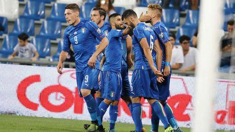 Ket qua tran Italia vs Israel: Kich ban bat ngo - Anh 1