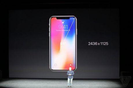 Apple ra mat iPhone X: khong con nut Home, man OLED vien mong, mo khoa FaceID - Anh 13