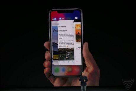 Apple ra mat iPhone X: khong con nut Home, man OLED vien mong, mo khoa FaceID - Anh 14
