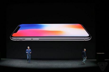 Apple ra mat iPhone X: khong con nut Home, man OLED vien mong, mo khoa FaceID - Anh 20