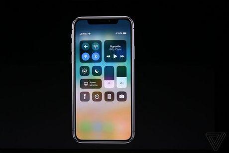 Apple ra mat iPhone X: khong con nut Home, man OLED vien mong, mo khoa FaceID - Anh 22