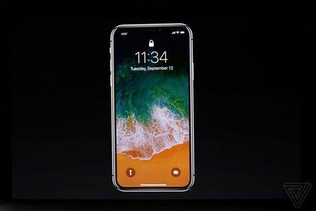 Apple ra mat iPhone X: khong con nut Home, man OLED vien mong, mo khoa FaceID - Anh 23