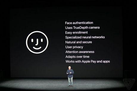 Apple ra mat iPhone X: khong con nut Home, man OLED vien mong, mo khoa FaceID - Anh 3