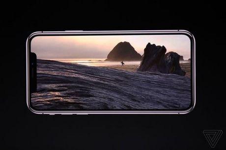 Apple ra mat iPhone X: khong con nut Home, man OLED vien mong, mo khoa FaceID - Anh 6