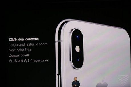 Apple ra mat iPhone X: khong con nut Home, man OLED vien mong, mo khoa FaceID - Anh 7